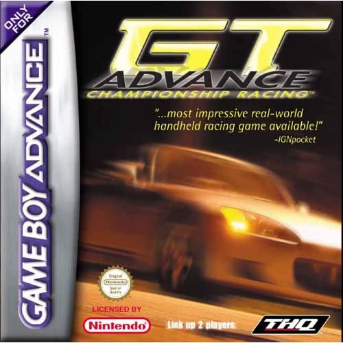 Image 0 of GT Advance Championship Racing GBA For GBA Gameboy Advance