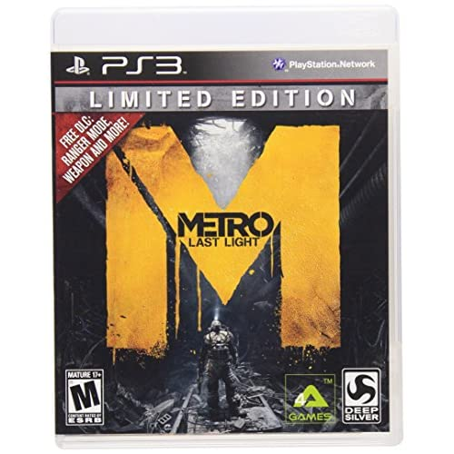 Image 0 of Metro: Last Light Limited Edition For PlayStation 3 PS3 Shooter