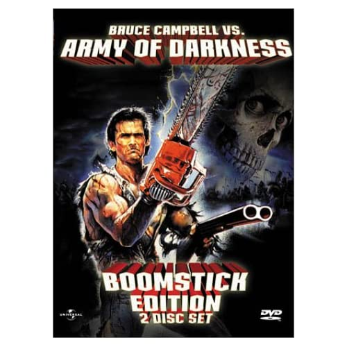 Image 0 of Army Of Darkness Boomstick Edition On DVD With Bruce Campbell