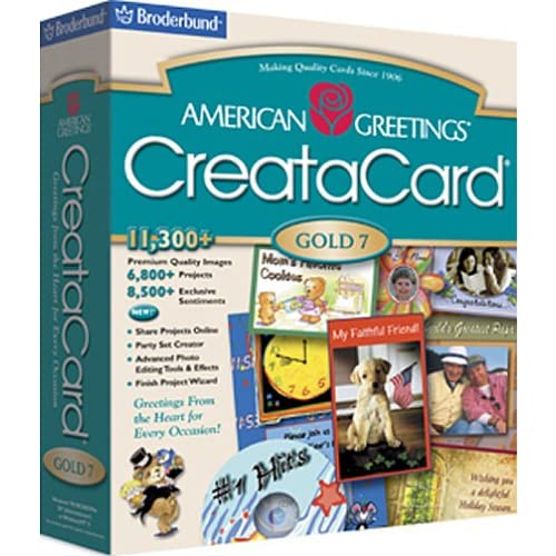 American greeting cards software american greetings creatacard gold 7 software m4hsunfo