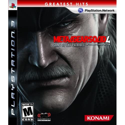 Image 0 of Metal Gear Solid 4: Guns Of The Patriots With Case For PS3