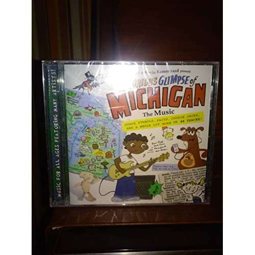 Image 0 of A Curious Glimpse Of Michigan The Music By Kevin Kammeraad And Friends And Ryan