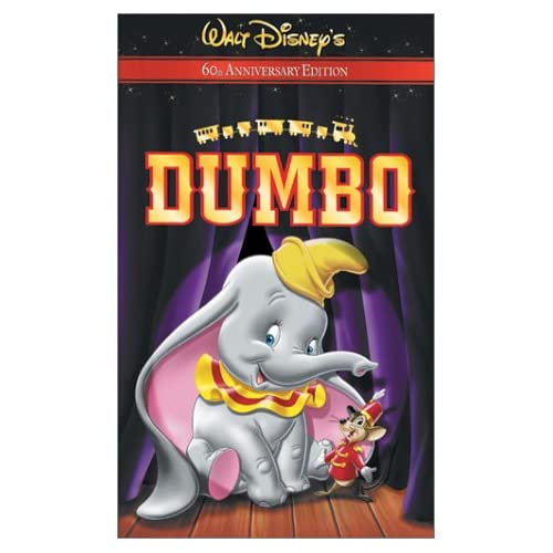 Dumbo 60th Anniversary Edition On VHS With Sterling