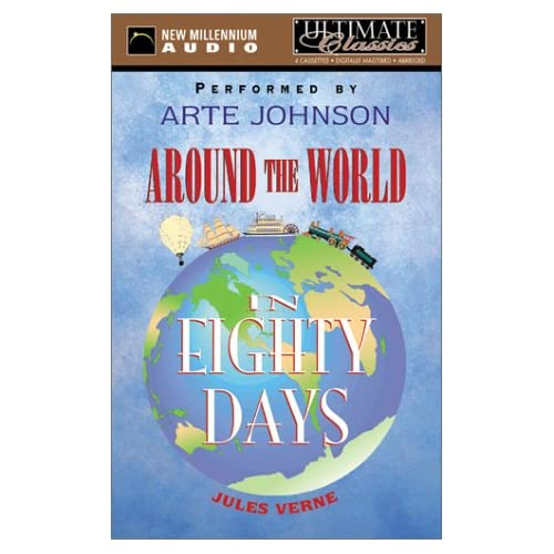 Image 0 of Around The World In Eighty Days By Verne Jules Johnson Arte Narrator On Audio Ca