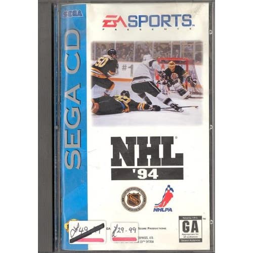 NHL Hockey 94 For Sega CD