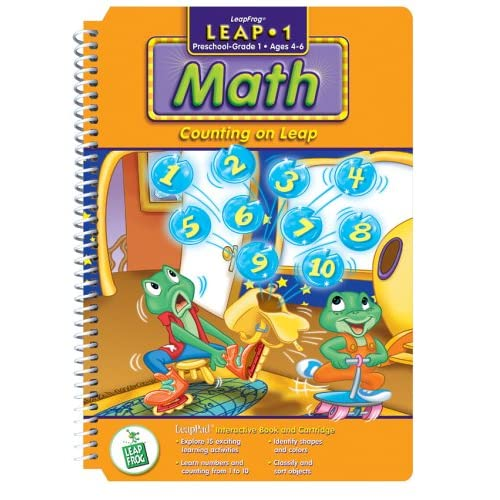 Image 0 of First Grade LeapPad Book: Counting On Leap For Leap Frog