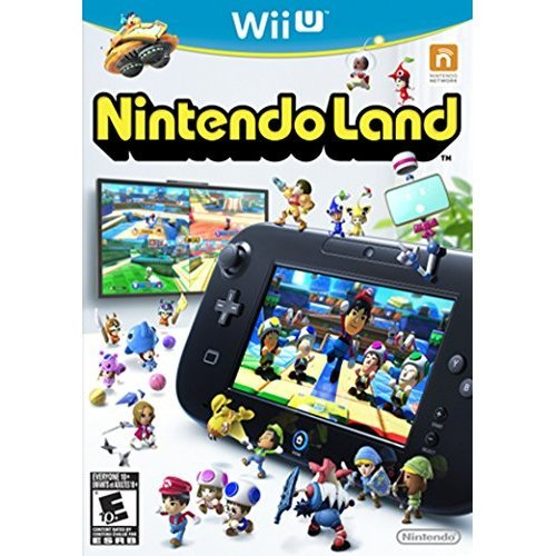 Nintendoland Wii With Manual And Case