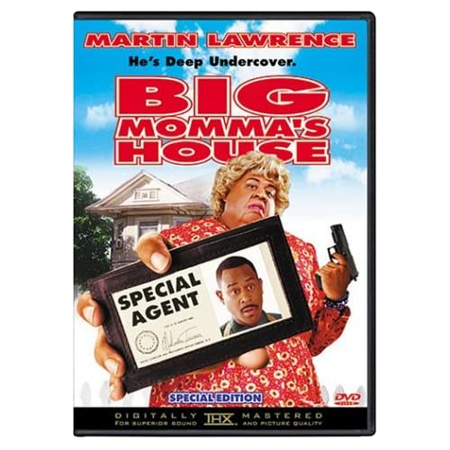 Image 0 of Big Momma's House Special Edition On DVD With Martin Lawrence Comedy