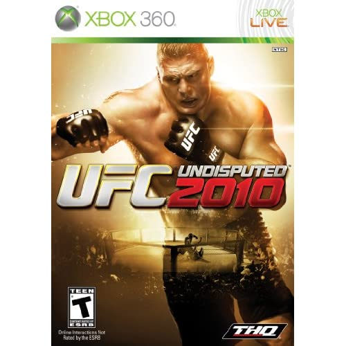 UFC Undisputed 2010 For Xbox 360 Wrestling