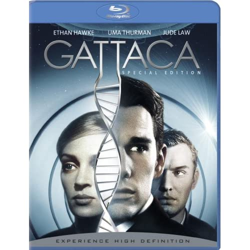 Gattaca Blu-Ray On Blu-Ray With Ernest Borgnine