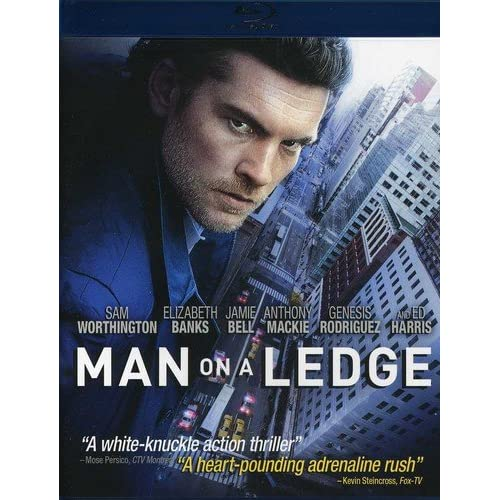 Image 0 of Man On A Ledge Blu-Ray On Blu-Ray With Sam Worthington