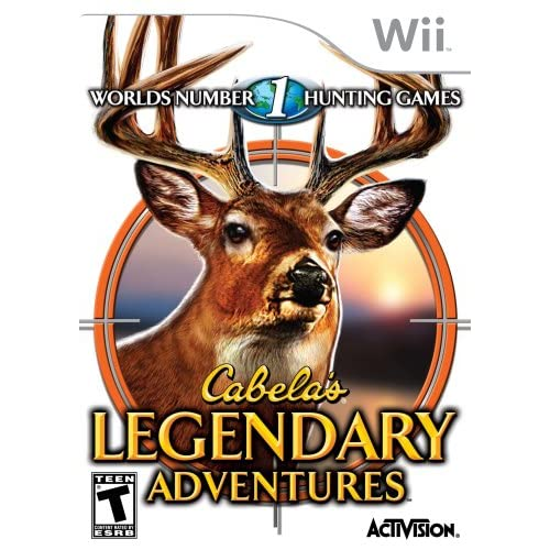 Image 0 of Cabela's Legendary Adventures For Wii Shooter