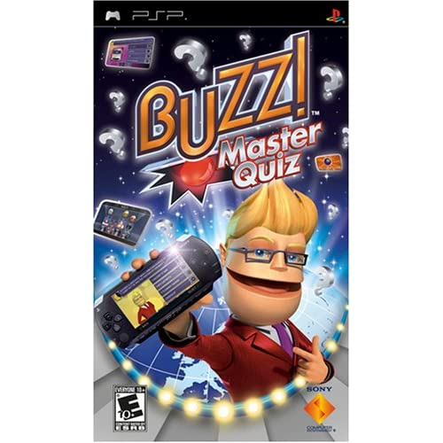 Image 0 of Buzz Master Quiz Sony For PSP UMD Trivia