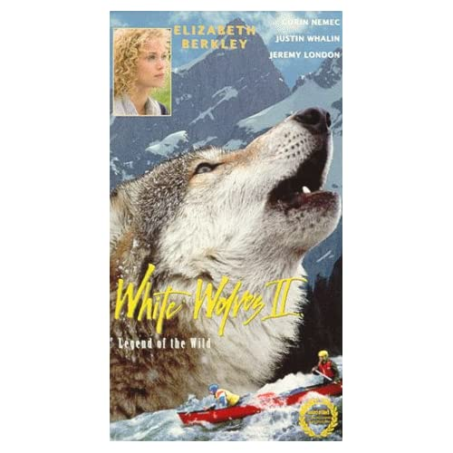 Image 0 of White Wolves II: Legend Of The Wild On VHS With Elizabeth Berkley