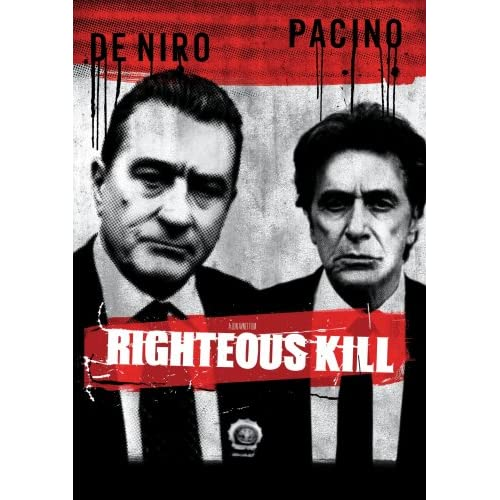 righteous kill on audio cd album 2009 on dvd with robert de niro. Black Bedroom Furniture Sets. Home Design Ideas