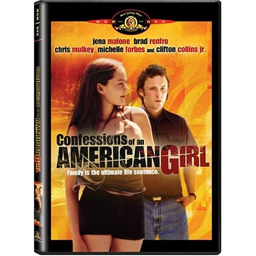 Image 0 of Confessions Of An American Girl On DVD With Jena Malone Drama