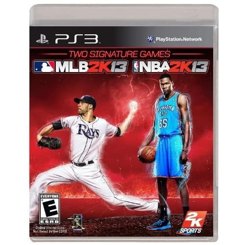 2K Sports Combo Pack MLB2K13/NBA2K13 For PlayStation 3 PS3