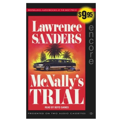 Image 0 of Mcnally's Trial By Lawrence Sanders On Audio Cassette