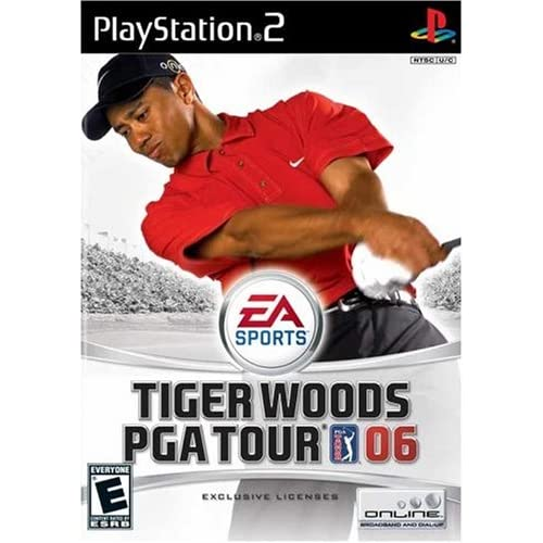 Image 0 of Tiger Woods PGA Tour 2006 For PlayStation 2 PS2 Golf