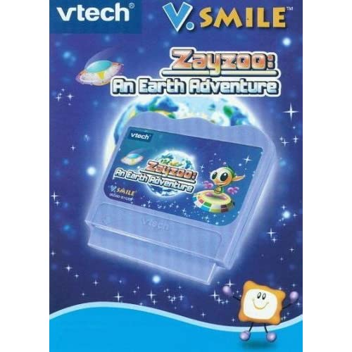Vsmile Zayzoo: An Earth Adventure Cartridge For Vtech