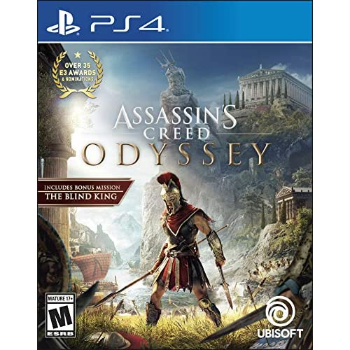 Assassin's Creed Odyssey Standard Edition For PlayStation 4 PS4