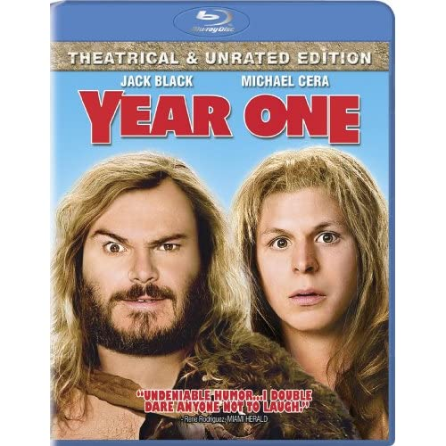 Image 0 of Year One Theatrical And Unrated Edition Blu-Ray On Blu-Ray With Jack Black
