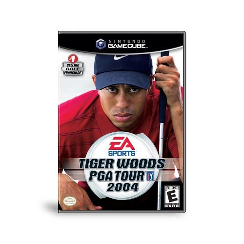 Tiger Woods PGA Tour 2004 Golf With Manual and Case