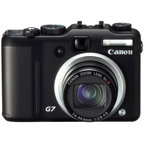 Canon Powershot G7 10MP Digital Camera With 6X Image-Stabilized Optical Zoom Bla