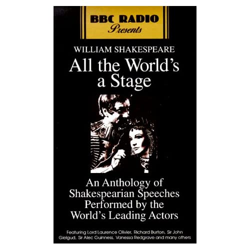 Image 0 of All The World's A Stage: BBC BBC Radio Presents By William Full Cast Reader Shak