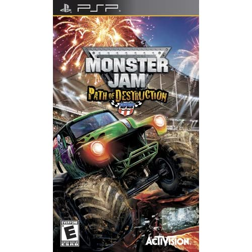 Image 0 of Monster Jam 3: Path Of Destruction Sony For PSP UMD Racing