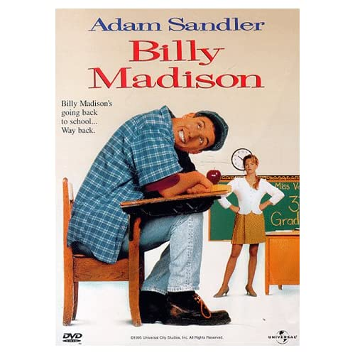 Image 0 of Billy Madison On DVD With Adam Sandler
