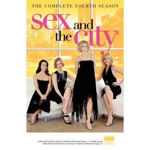 Sex And The City: Season 4 On DVD With Kim Cattrall
