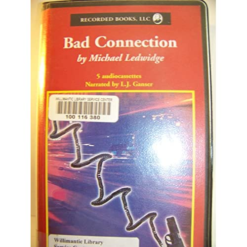 Image 0 of Bad Connection Audiobook On Audio Cassette