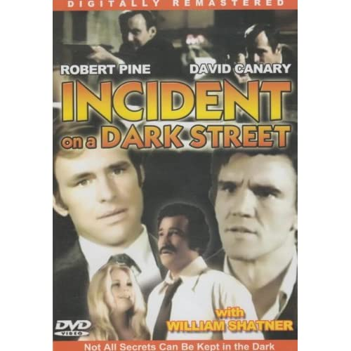 Image 0 of Incident On A Dark Street Slim Case On DVD with Robert Pine
