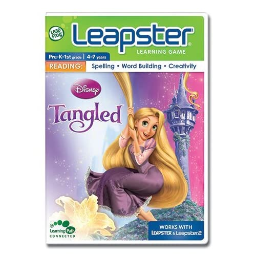 Image 0 of Leapfrog Leapster Learning Game: Tangled For Leap Frog