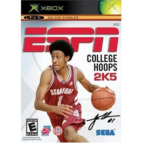 ESPN College Hoops 2K5 Xbox For Xbox Original Basketball With Manual