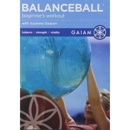 Image 0 of Balance Ball For Beginners 2006 On DVD With Suzanne Deason Exercise