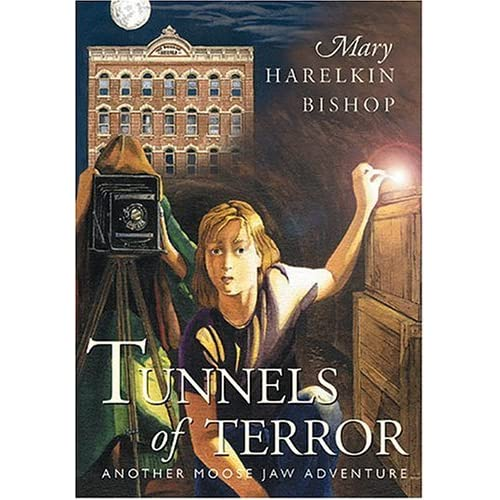 Image 0 of Tunnels Of Terror Moose Jaw Adventure Series By Mary Harelkin Bishop