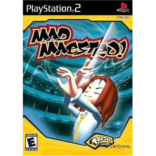 Mad Maestro! For PlayStation 2 PS2 Music With Manual And Case