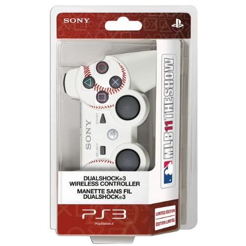 PS3 Dualshock 3 Wireless Controller MLB 11 The Show Edition For PlayStation 3 Ba