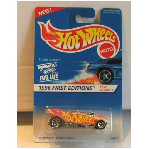 Hot Wheels Turbo Flame 1996 First Editions 8 Of 12 369 Toy