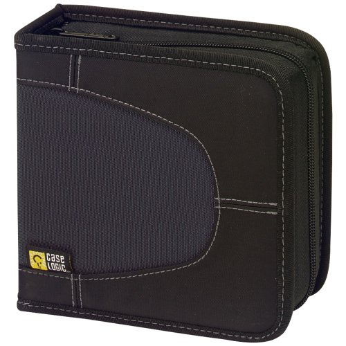 Case Logic CDW-32BLACK Nylon CD Wallets 32 Disc Accessories Electronics