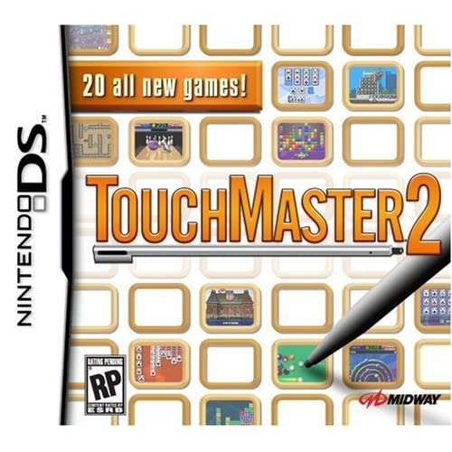 Image 0 of Touchmaster 2 For Nintendo DS DSi 3DS 2DS Puzzle