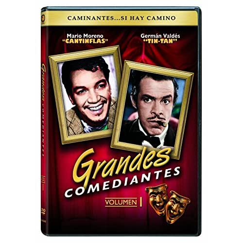Image 0 of Caminantes Si Hay Camino: Grandes Comediantes Vol 1 DVD On DVD With Cantinflas C