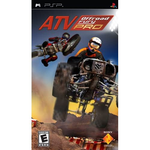 ATV Offroad Fury Pro Sony For PSP UMD Racing