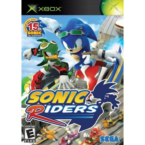 Old Xbox Games Racing Games : Sonic riders xbox for original racing
