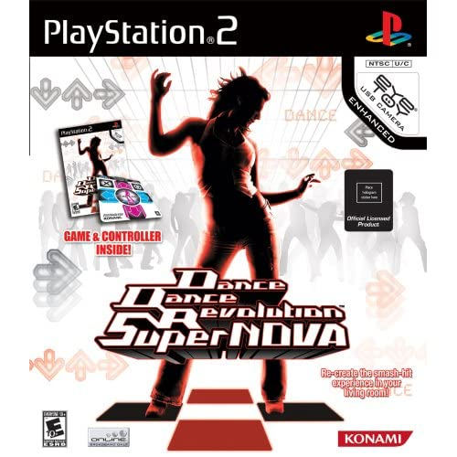 Image 0 of Dance Dance Revolution Supernova Bundle For PlayStation 2 PS2 With Mat