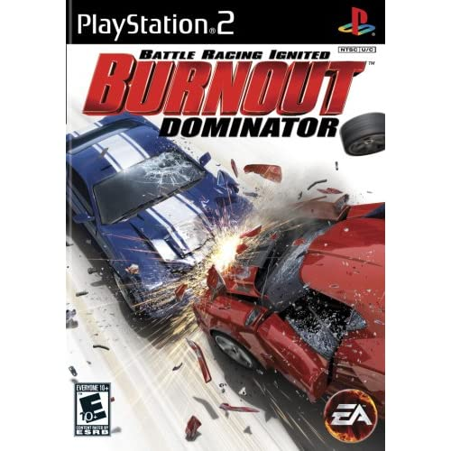 Burnout Dominator For PlayStation 2 PS2 Racing