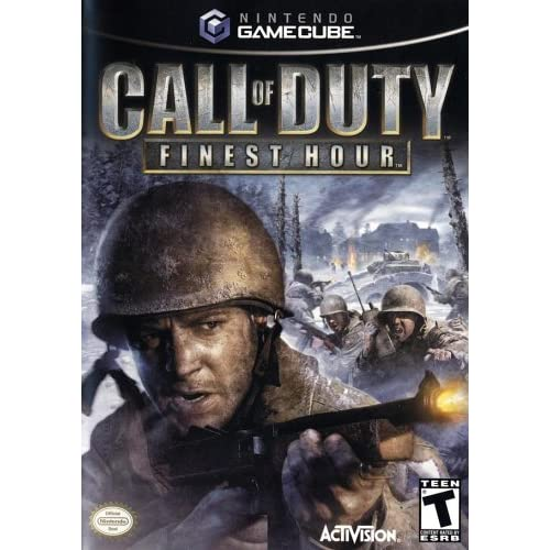 Call Of Duty: Finest Hour For GameCube COD