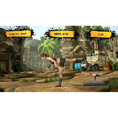 Image 1 of Jillian Michaels Fitness Adventure For Xbox 360 With Manual and Case